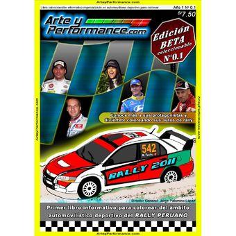 Compra Colors Libros Para Colorear Autos De Rally Racing Peruano