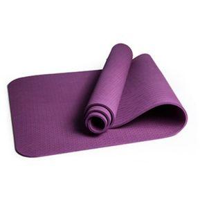 d76490fa4 EY TPE De 6mm De Grosor Antideslizante Para Las Esteras Del Yoga Fitness  Gimnasio Entrenamiento Pilates