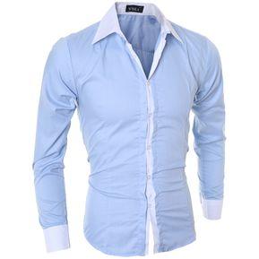d21555f8a8e4d Camisas casuales manga larga de hombre en Linio México