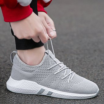 código promocional 0618e 0ef27 Hombre Zapatos Deportivos Para Caminar Tailun-Cool-Gris
