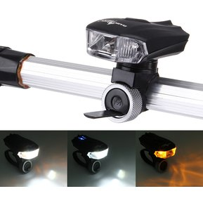 1532c781d Impermeable USB Recargable 5 Modos De Color Amarillo Y Blanco LED Bicicleta  Luz Trasera Luz 400LM