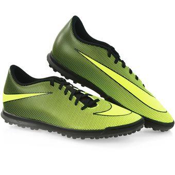 Zapatos Fútbol Hombre Nike BravataX II TF Amarillo