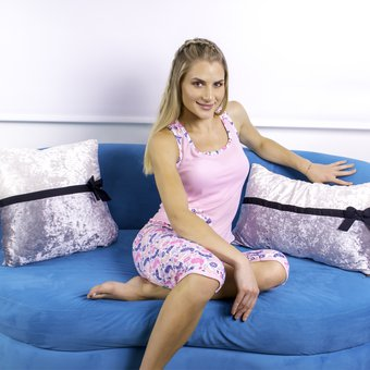 eb61a486ea Compra Pijama para Mujer Capri Rosada Womanpotsherd online