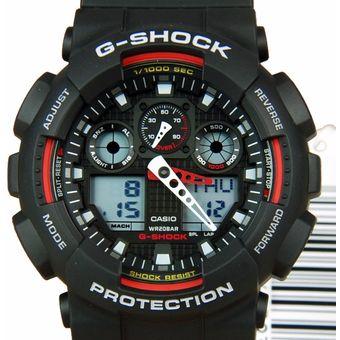 ca1ddc3511c2 Compra Reloj Casio G Shock GA100-1A4 Resistente a Impactos - Negro ...
