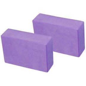 Kit 2 Pzas Bloque Block Ladrillo Yoga de Eva Espuma (23x15x7) 83c986df8acc