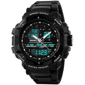 cfab1de3e656 Reloj SKMEI Marine 1164 T3 Crono Conteo Alarma Fecha – Negro Blanco