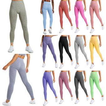 Pantalones De Yoga Para Mujer Leggings Deportivos Delgado De Cintura Linio Colombia Ge063sp194hn7lco