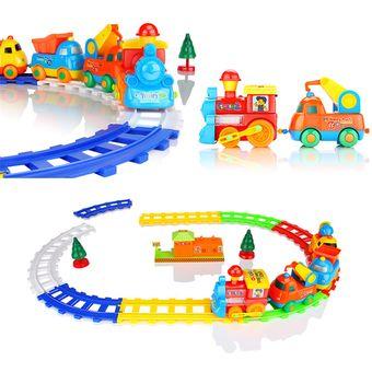Baby Juguete Música Coche Para Niños Puzzle Track Rompecabezas iulOkZwPXT