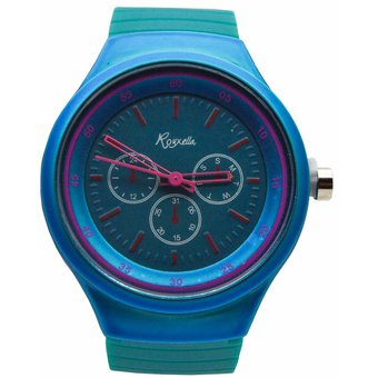 34d74a43bd03 Compra Reloj Analogico Goma Mujer Kipuy - Turquesa online