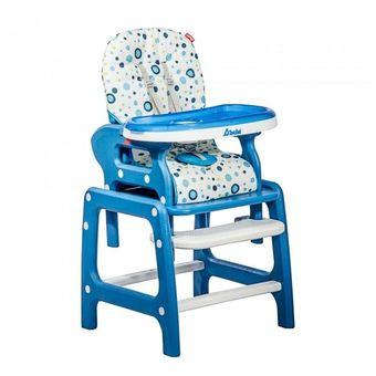 Silla Alta Periquera para Comer para Bebe D Bebe Azul