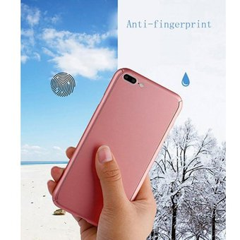 68df9559731 Agotado Funda 360° Para IPhone 7 Y 8 PLUS De Policarbonato Y Mica De Cristal  Templado