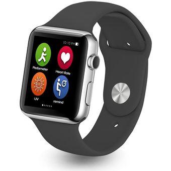 aef16311e7c Iwo inteligente Pulsómetro reloj del bluetooth para el iPhone iOS  Android-negro