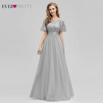 Vestido De Noche Brillante Vestidos Largos Siempre Bonitos Ep00904gy
