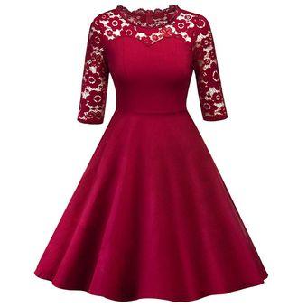 10b36a4c117 Compra Vestidos Elegantes De Encaje Para Dama De Honor Vestidos De ...
