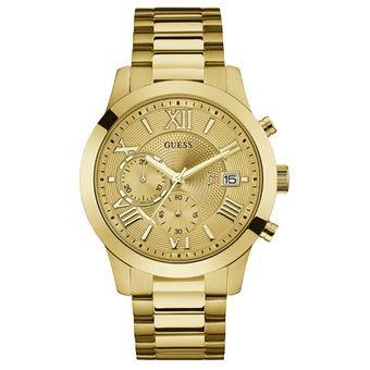 f28e6a1cf Compra Reloj Guess ATLAS W0668G4 - Dorado Caballero online | Linio ...