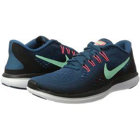 Tenis de Mujer Nike Flex 2017 Rn-Azul Marino 3cdba9a536d