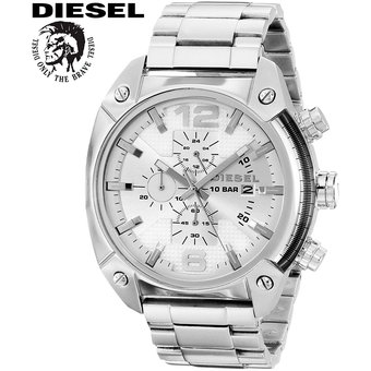 34f284596ce5 Compra Reloj Diesel Overflow DZ4203 Cronometro Acero Inoxidable ...