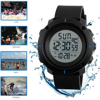 7ba3aa3b9b75 Compra 50m Contra Agua Reloj Hombre Skmei Relojes Deportivo Digital ...