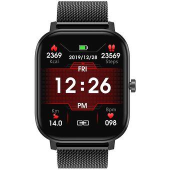 Reloj Inteligente DT35 Black Metal llamadas Bluetooth