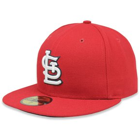 7818215a2a245 Gorra New Era 5950 MLB San Luis Cardinals Game Rojo