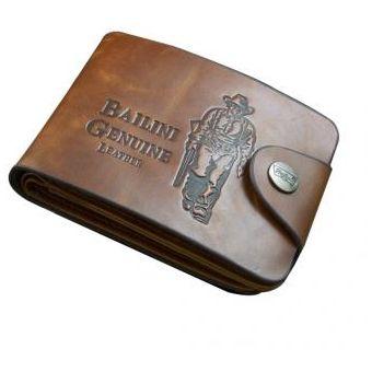 Compra Billetera De Cuero Para Hombre-Marrón online  d5b88d24788
