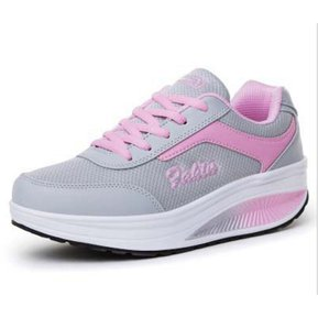 993a95d7 Zapatillas De Deporte Para Mujeres Shake Shoes Leather Sport-Rosa