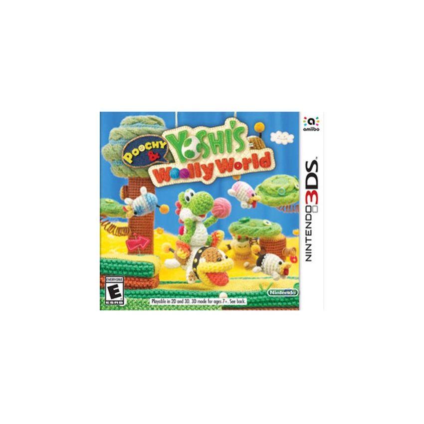 Poochy & Yoshi's Woolly World Nintendo 3DS