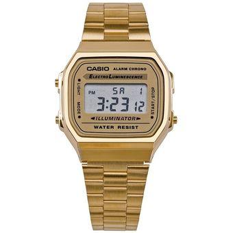 de4b1c349089 Compra Reloj Casio Dorado Unisex Ref  A168WG-9 online