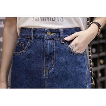 Faldas De Talla Grande 5xl A La Moda Para Mujer Falda Vaquera Ajustada De Cintura Alta Para Mujer Falda Pantalones Vaqueros Casuales Gloria Jeans Falda Midi De Verano Light Blue Linio Peru Ge582fa071f8flpe