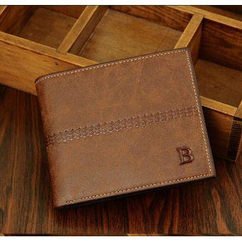 código promocional 53595 16f83 Billetera de hombre tendencia moda juvenil monedero monedero-brown1