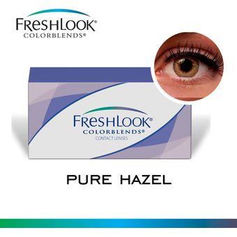 Compra FreshLook Colorblends Tricolor Lentes De Contacto Pure Hazel ... fe37799b3a