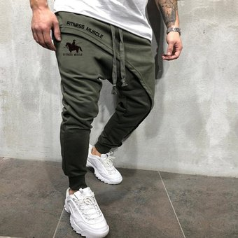 Pantalones Joggers De Hip Hop Basico De Moda Para Hombres Pantalones De Cintura Elastica Solidos Pantalones De Chandal Informales De Alta Calidad Para Hombres Photo Color Linio Peru Un055fa0c314llpe