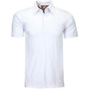 Playera Caballero POLO Dry FIT Hombre Dacache Uniforme Empresarial  Ejecutivo Oficina Color-Blanco 40d326539240b