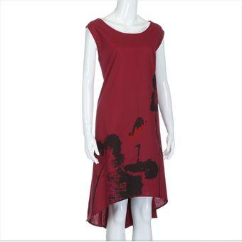 19beace0ac Compra Vestido Casual Generico Mujer Elegante Largo Vestir Sueltos ...
