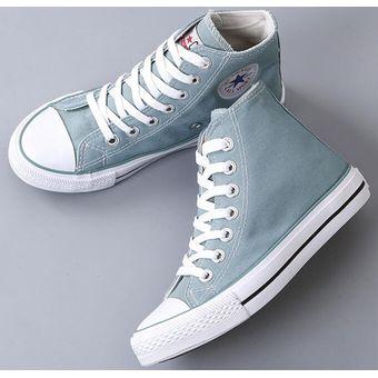 974ca86c Agotado Mujer Zapatos De Canvas Estilo Casual Y Comodo De Color Azul Ligero
