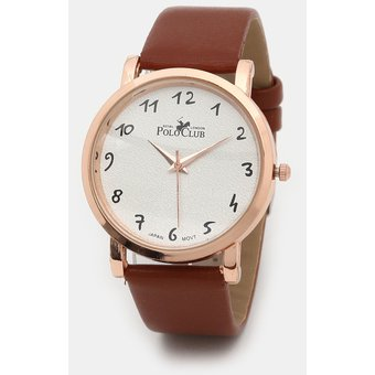 Cafe Mujer Reloj Dama Club Polo B Para Rlpc Mano 2918 5A4R3jcqLS
