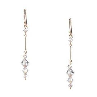 d63cf6270d61 Compra Aretes Con Crystals Swarovski En Aleacion Con Oro 18k online ...
