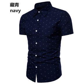 9639e70a0 Camisa de Playa para Hombre Primavera y Verano-Multicolor