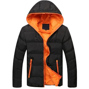 Chaqueta de abrigo para hombre con capuc.