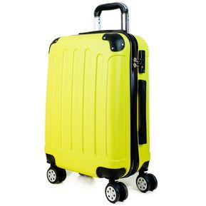 6581b06ba Maleta Premium Travelworld Cabina Carry On Valija de Mano - Amarillo