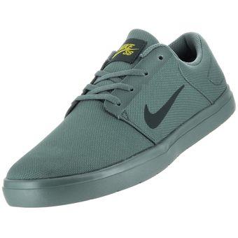 zapatos nike hombre verde