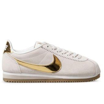 new styles 34303 b1320 Agotado Zapatos Deportivos Mujer Nike Classic Cortez Se - Beige