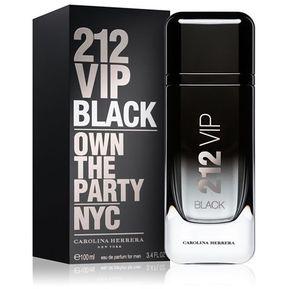 3ab88fcd335 Perfume Para Caballero Carolina Herrera 212 VIP BLACK Eau De Parfum 100 Ml.