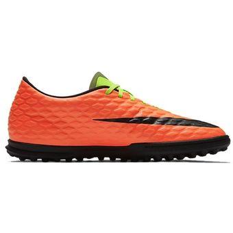 separation shoes 6d508 4fc79 Agotado Zapatos Fútbol Hombre Nike HypervenomX Phade III TF -Verde Con  Naranja