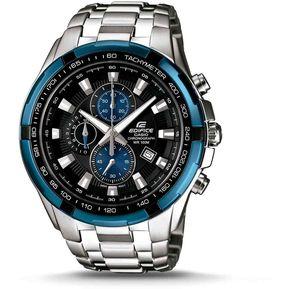 1da12ab8e831 Reloj Casio Hombre Edifice Ef 539 Crono Acero - AZUL