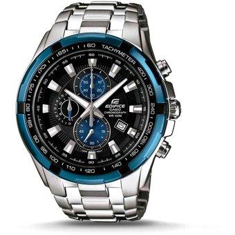 bb99da4b64be Compra Reloj Casio Hombre Edifice Ef 539 Crono Acero - AZUL online ...