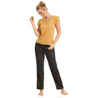 b4542aaab6 Compra Pijama Pantalón Haby para Mujer-Mostaza online