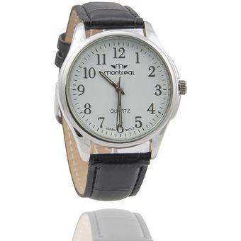 0daf9118bf32 Compra Reloj Montreal Hombre Md Negro Fondo Blanco online