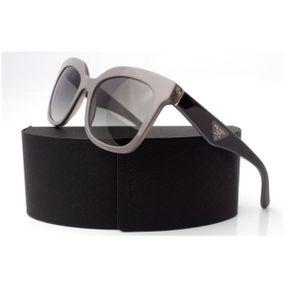 deb39f9cb3 Lentes De Sol Prada Opr 24qs Tfu 3m1 Shiny Black & Grey Italiano