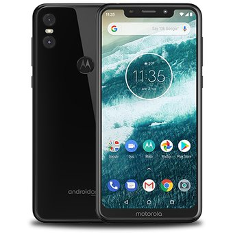 Motorola One 4GB RAM 64 GB Nuevo Libre Garantía - Negro teléfono smartphone linio smartphones 2019